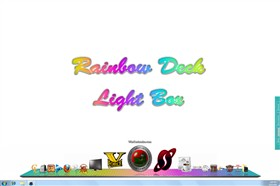 Rainbow Deck Light Box