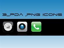 3,pda icons