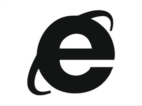 Minimalist Black - Internet Explorer