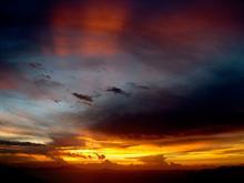 BVI Red Sky