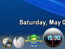 Dual Display Clock for SysStats 2.0