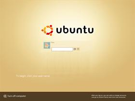 Ubuntu Human logon