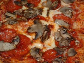 Pepperoni and Mushroom