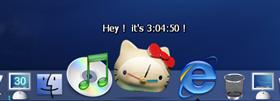 Hello Kitty Clock!