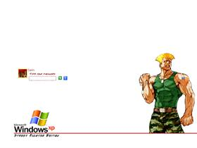 Street Fighter Logon - Guile
