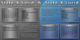 Slate-X Lucid & Solid for Raindelar