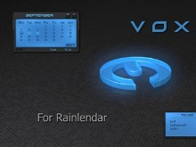 V O X  for Rainlendar