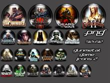 Gunmetal Game Icons2