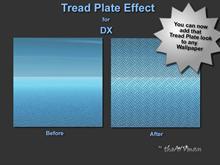 Tread Plate Effect