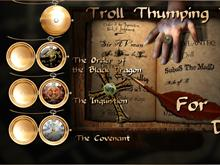 Troll Thumping Day Clocks