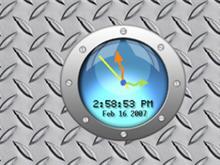 Sub View Clock