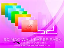 SD Mac wallpaper pack!