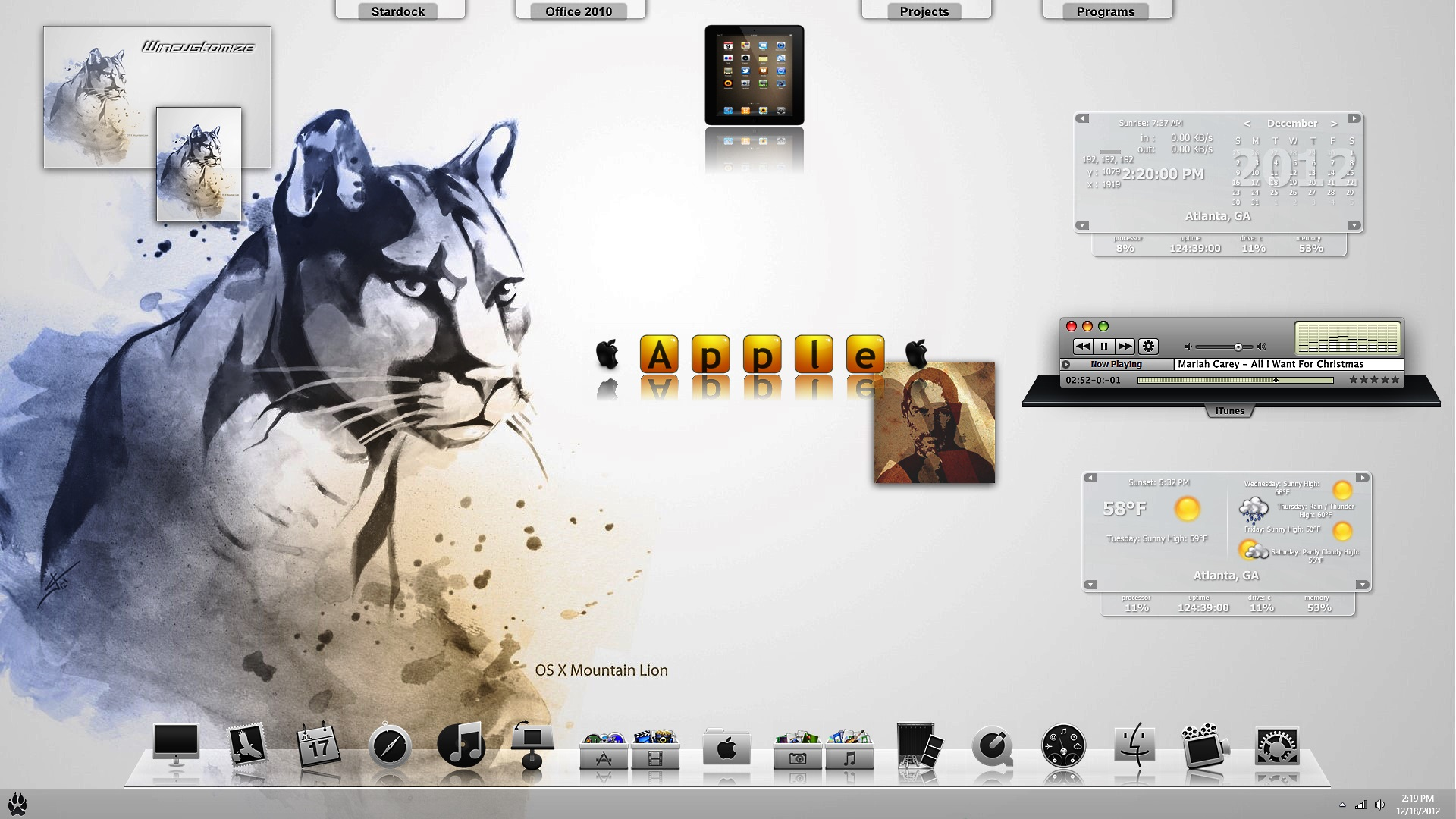 Mac OS X Mtn Lion 5