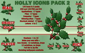 Holly Icons Pack 2