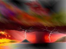 Pastel storm