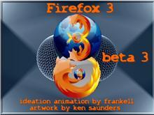 """Firefox 3 beta3"" Animated"