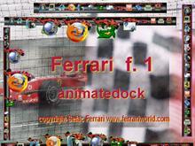 Ferrari f.1 animatedock