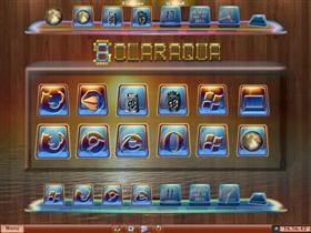 SolarAqua+PaleMoon+RecycleBin Icons