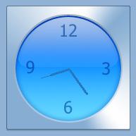 iGlass Clock