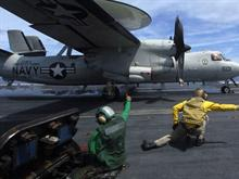 E-2C Hawkeye Launch