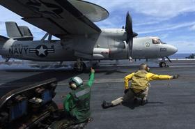E-2C Hawkeye Launch