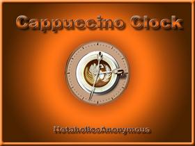 Cappuccino Clock