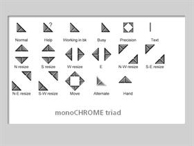monoCHROME triad