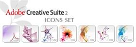 Adobe Creative Suite 2 Icons