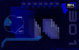 PCAP 3D BLUE