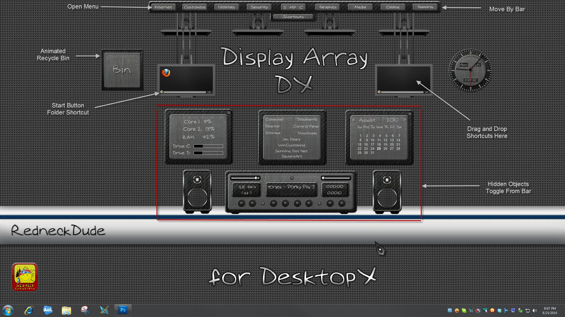 Display ArrayDX