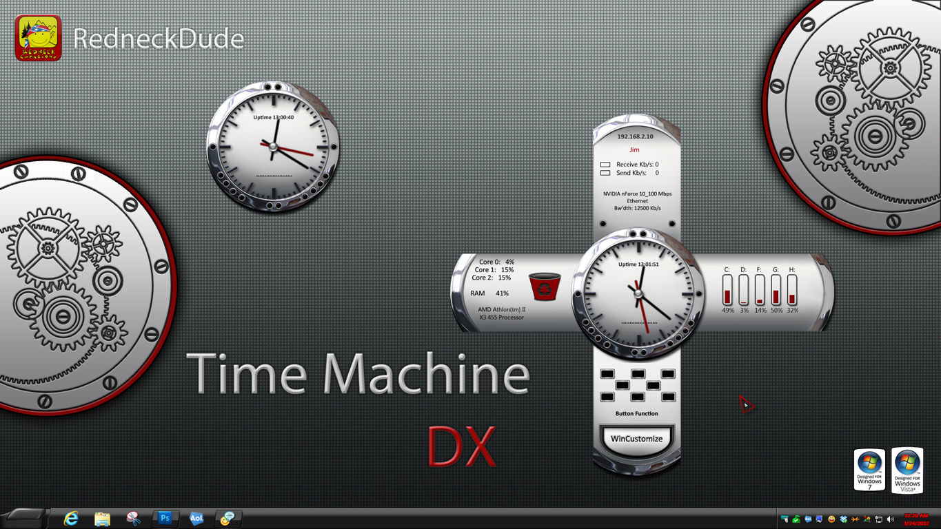 Time Machine DX