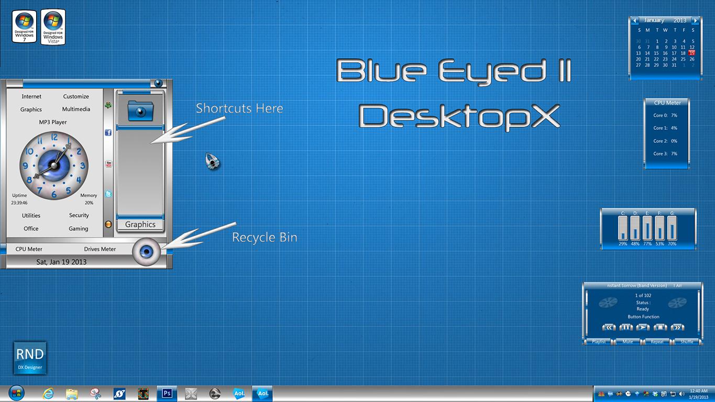 Blue Eyed II DX