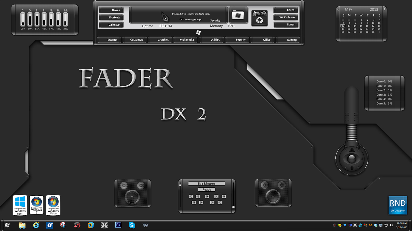 Fader DX 2