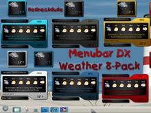 Menubar Weather 8 Pack