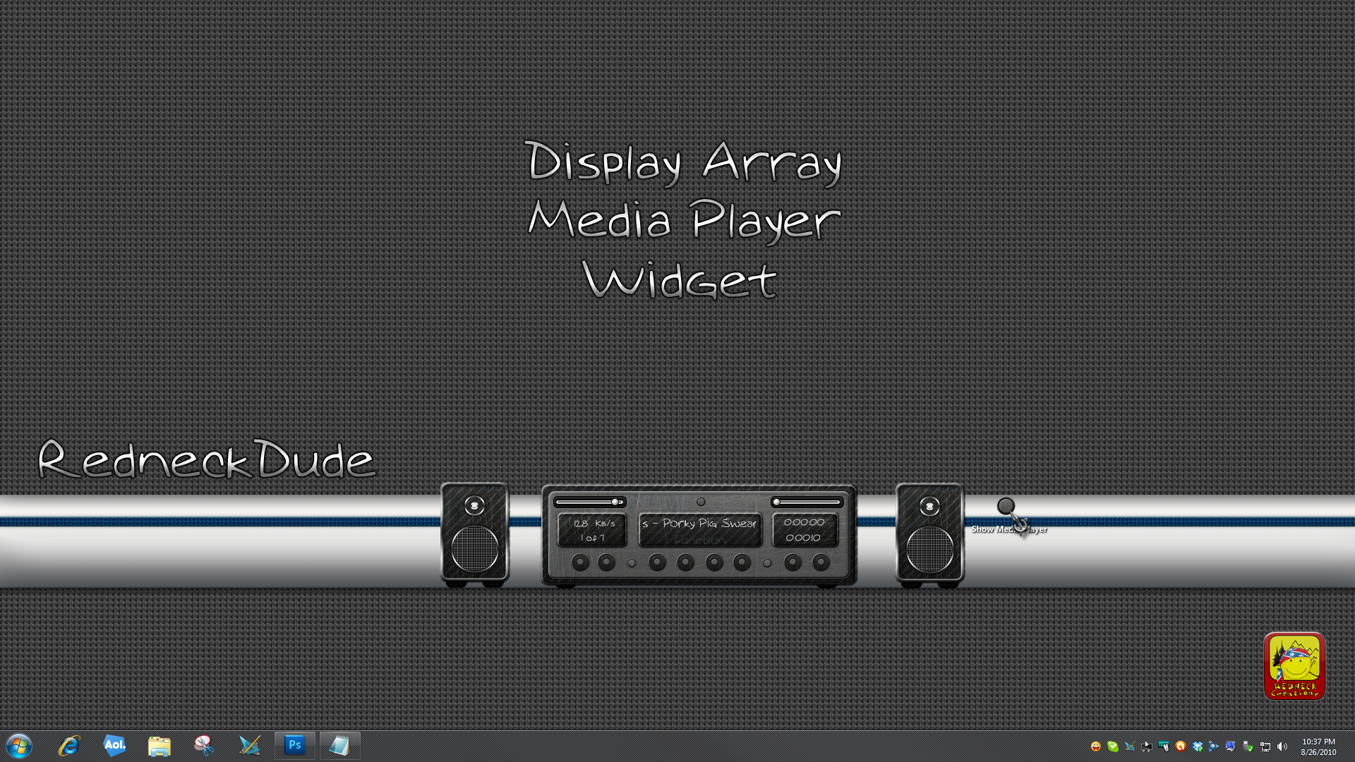 Display Array Media Player Widget