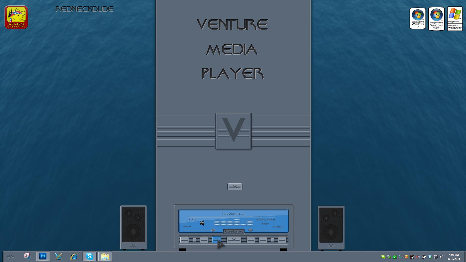 Venture Media Widget