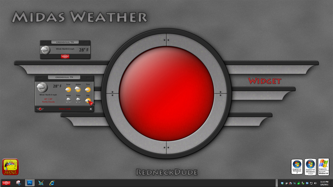 Midas Weather Widget