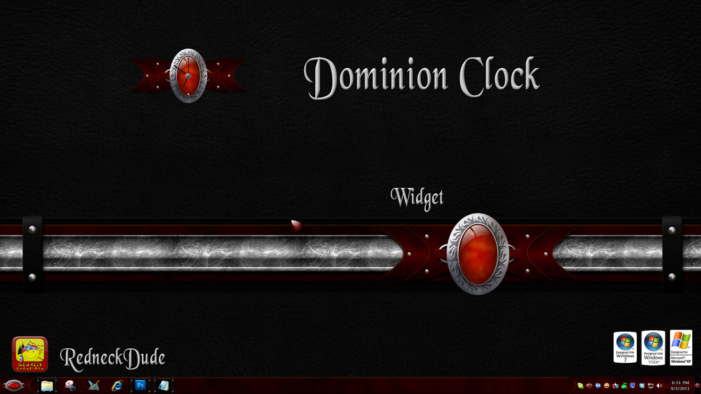 Dominion Clock Widget