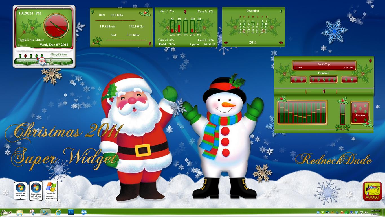 Christmas 2011 Super Widget