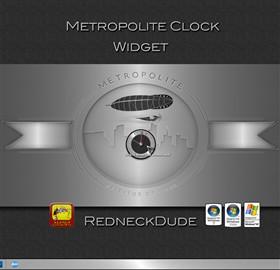 Metropolite Clock Widget
