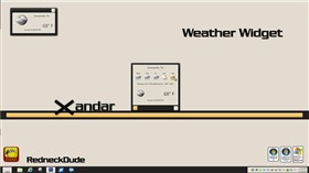 Xandar Weather Widget
