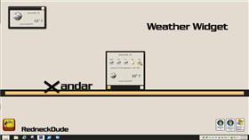 Xandar Weather Widget