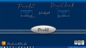 PointZ DigiClock Widget