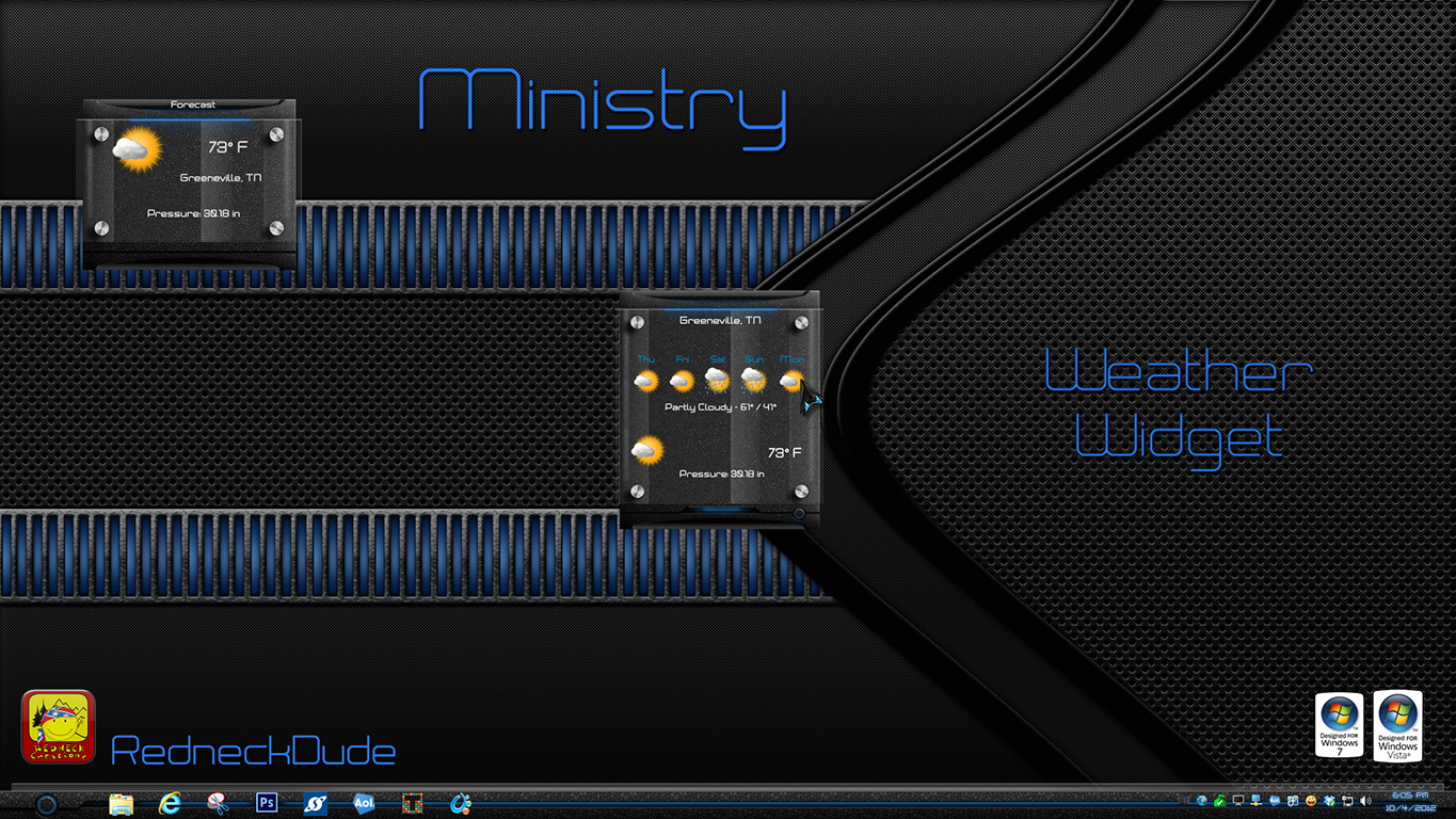 Ministry Weather Widget