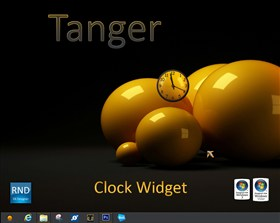 Tanger Clock Widget