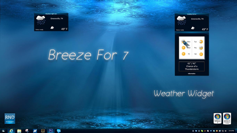 Breeze Weather Widget