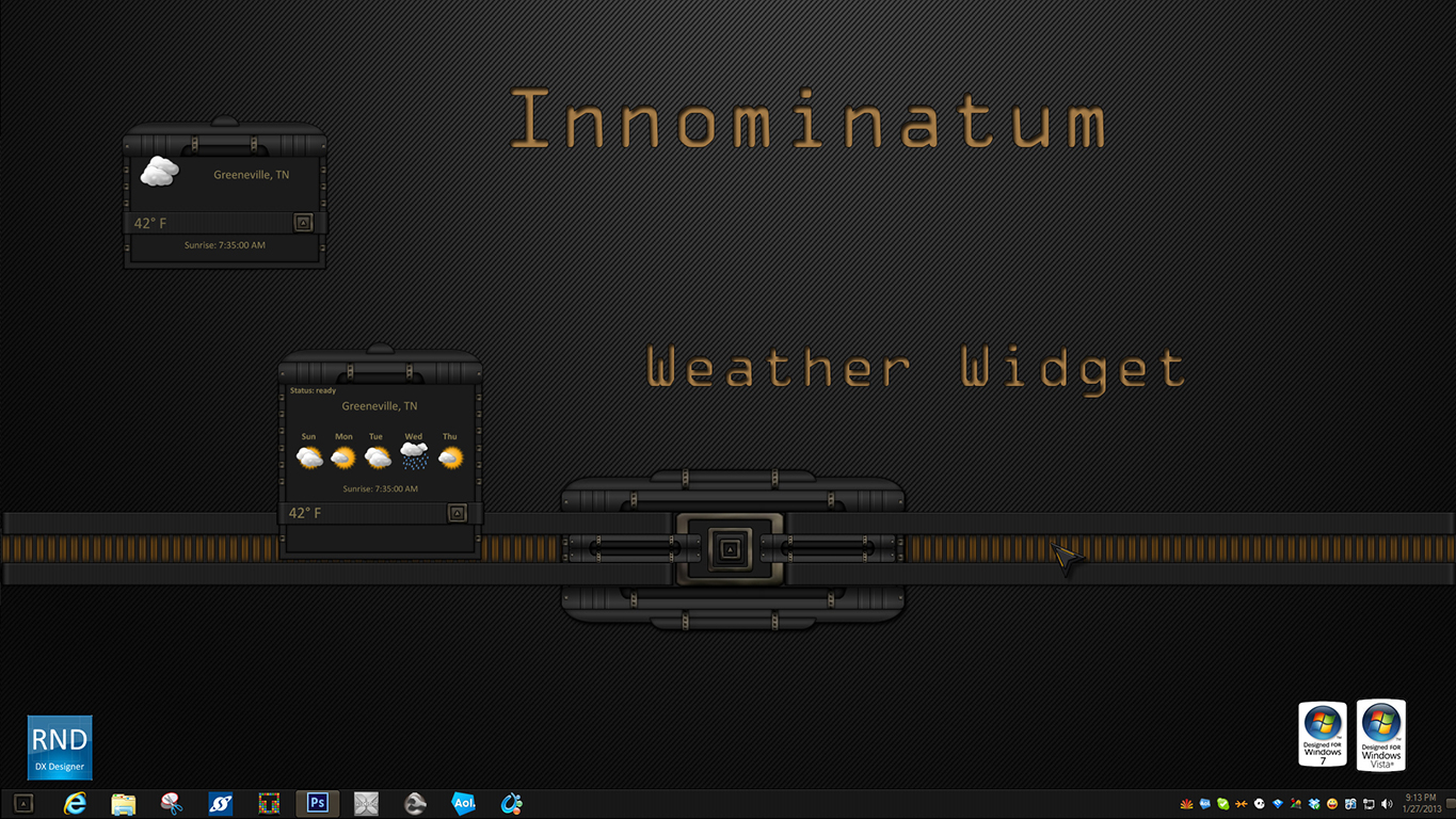 Innominatum Weather Widget
