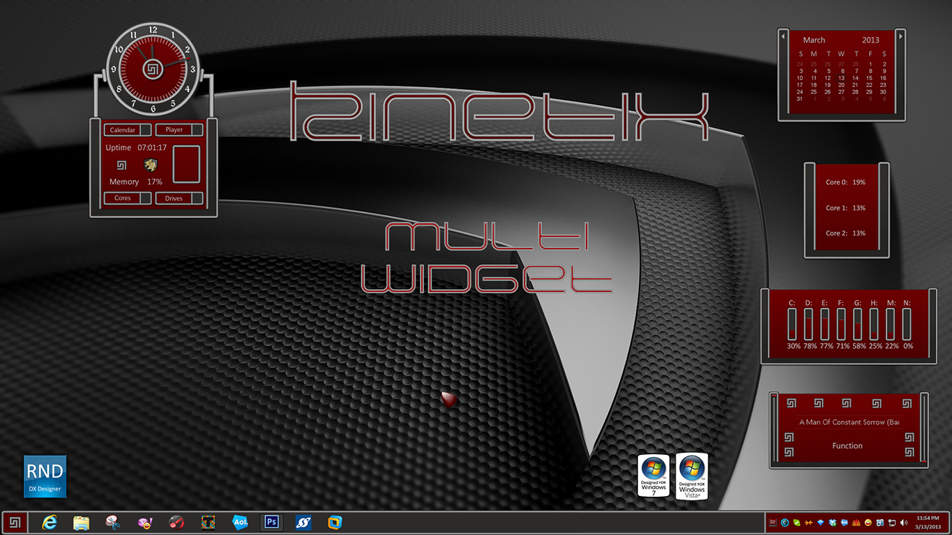 Kinetix Multi Widget