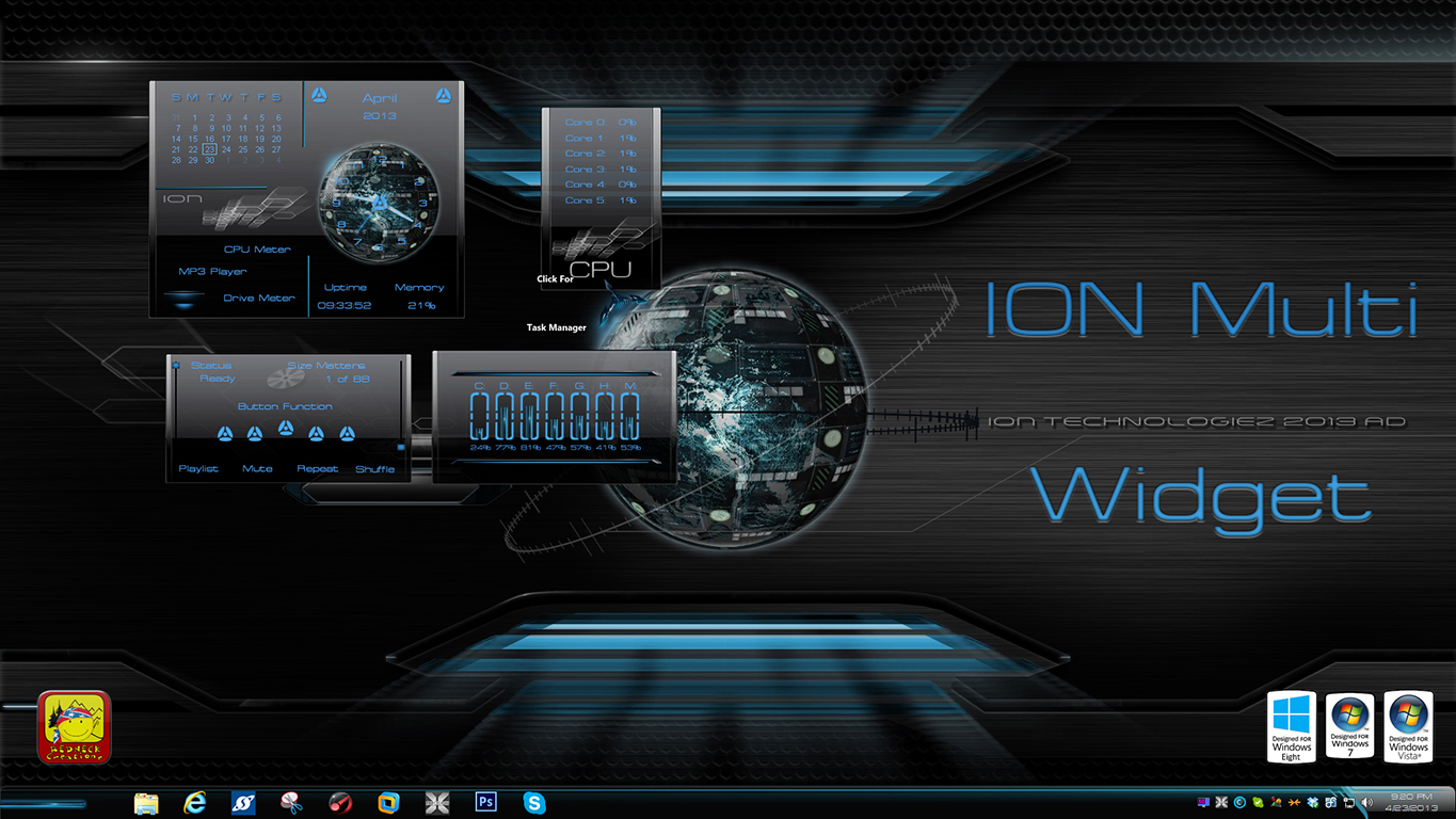 Ion Multi Widget