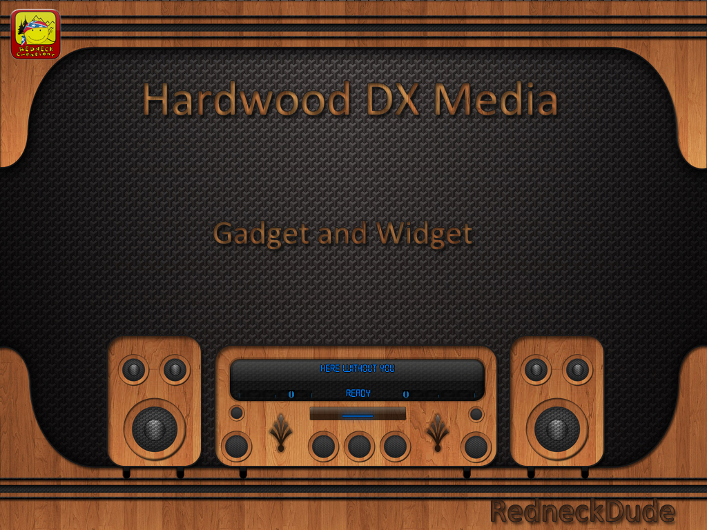 Hardwood Media Gadget and Widget